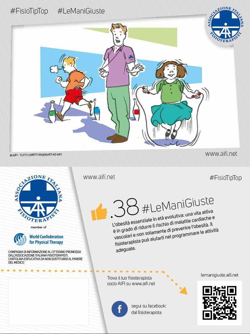 Cartolina #FisioTipTop 38