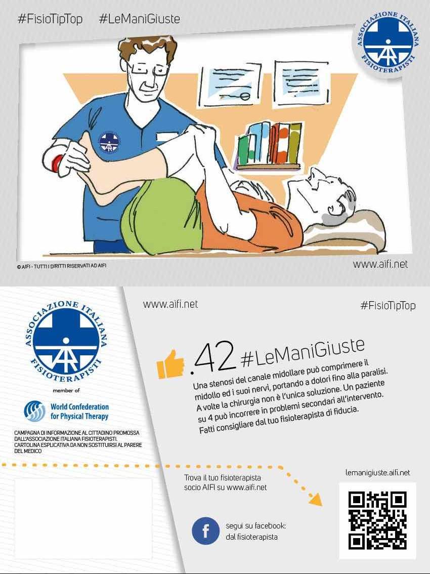 Cartolina #FisioTipTop 42