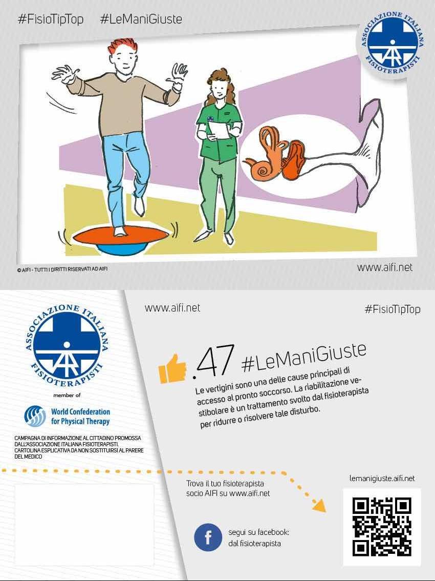 Cartolina #FisioTipTop 47