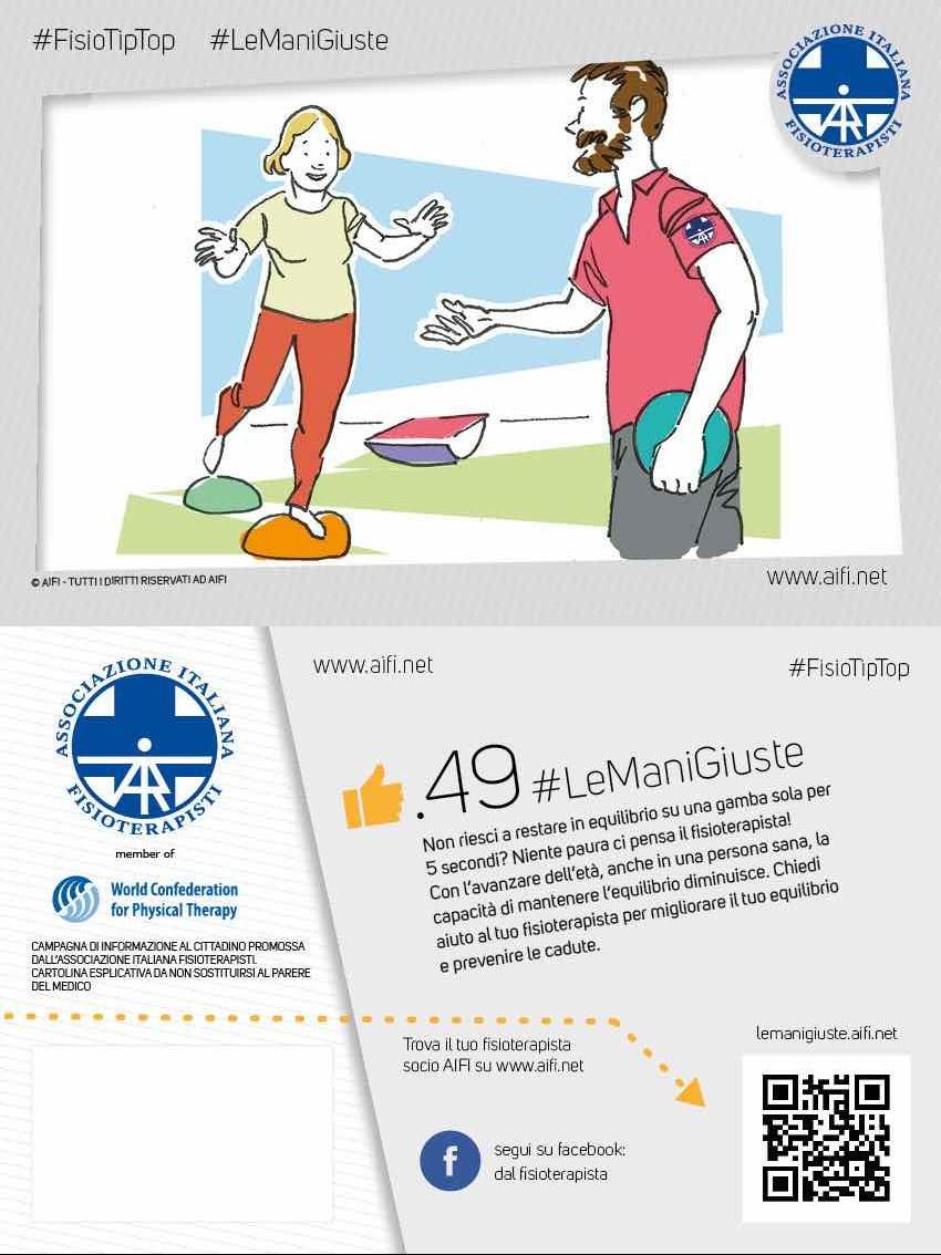 Cartolina #FisioTipTop 49